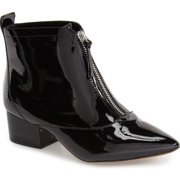 French Connection Black Robrey Booties - Sz. 8
